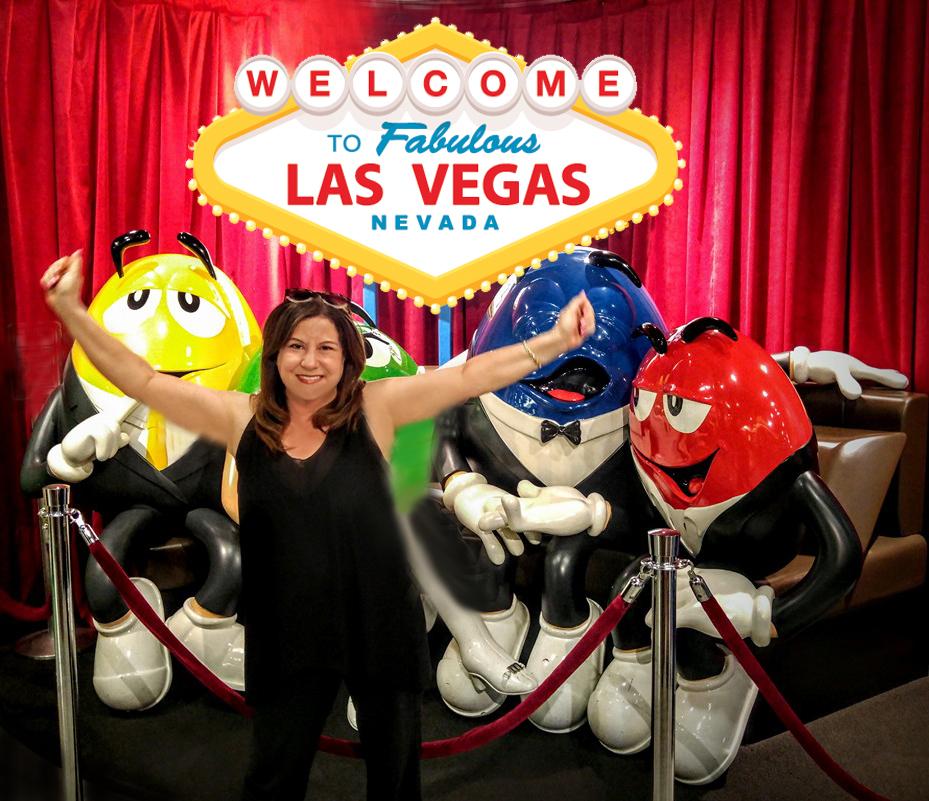 Linda M&Ms Las Vegas